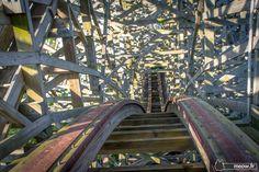 Nara Dreamland wooden roller coaster