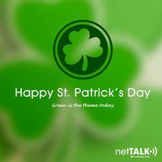 #HappyStPatricksDay! Are you wearing #green today? #StPatricksDay #Greenleaf http://netTALK.com