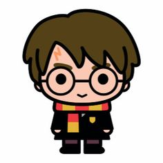 Harry Potter Cartoon Character Art Source by weckmichzurpaus Harry Potter Tumblr, Harry Potter Anime, Harry Potter Kawaii, Images Harry Potter, Arte Do Harry Potter, Harry Potter Stickers, Cute Harry Potter, Harry Potter Drawings, Harry Potter Characters