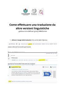 Modifica di Progetto:WikiDonne/Eventi/Editathons/La mujer que nunca conociste 2017/Roma (sezione) - Wikipedia Shopping, Rome, Women