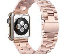 HOCO Stainless Steel 3 Pointerd Watchband for Apple Watch - Rose Gold Best Apple Watch, Apple Watch Faces, Apple Watch Series 3, Macbook Pro Sale, Macbook 15, Apple Watch Colors, Refurbished Macbook Pro, Metal Watch Bands, Buy Iphone