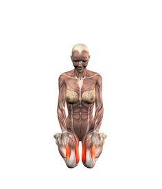 ૐ YOGA ૐ Virasana ૐ Postura del Héroe, sobre los Muslos. Hero pose, hands on thighs | YOGA.com