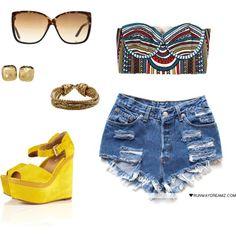 Fun Urban Summer Outfit