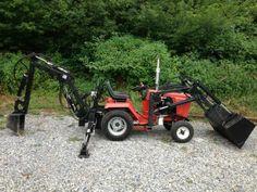 2014 ingersoll garden tractor;  Mini tractor Case Ingersoll