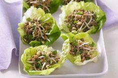 Taste member, 'Lozzy' shares this speedy san choy bau recipe. Mince Recipes, Pork Recipes, Asian Recipes, Cooking Recipes, Healthy Recipes, Ethnic Recipes, Vietnamese Recipes, Ww Recipes, Healthy Treats