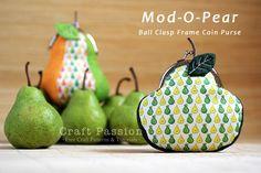 pear coin purse