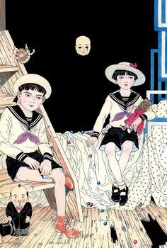 """""""Tomino no Jigoku"""" by Suehiro Maruo"""