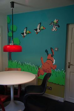 Duck Hunt room #retrogaming