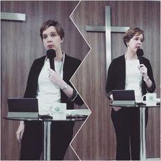 Pastora Camila Lycurgo ensinando sobre autoridade em #Cristo.  Pastor Camila Lycurgo teaching on authority in #Christ.  DefesaDaFe.org #apologetics #apologética #jesus