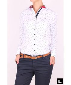 Dámska košeľa A616 Office Fashion, Tops, Women, Style, Swag, Office Looks, Outfits, Woman