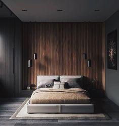 88 Unordinary Wood Bedroom Design Ideas With Elegant Decoration Interior Design Examples, Interior Design Inspiration, Home Interior Design, Design Ideas, Bedroom Inspiration, Interior Shop, Studio Interior, Interior Doors, Modern Bedroom Design