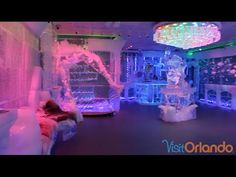As summer fun sizzles in Orlando, cool down with a visit to Orlando's newest, chilly attraction -- Minus5 Bar at Pointe Orlando.  #Minus5 #IceBar #Orlando #Travel #Unexpected #Cold #Fun