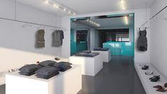Inside Fashion Store by Söhne & Partner Architekten, Vienna store design