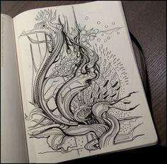 More-Sketchbook-Drawings-by-Irina-Vinnik-9