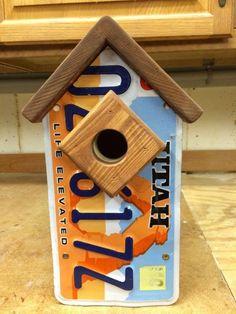 License Plate Birdhouse #AnythingElse