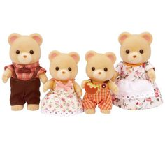Buy Sylvanian Families Bear Family at Argos.co.uk, visit Argos.co.uk to shop online for Action figures and playsets, Action figures and toys, Toys