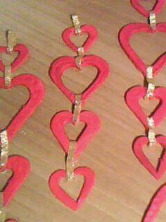 soraya's laboratory HEARTS ORNAMENTS DECORAZIONI CUORE