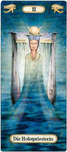II. The High Priestess - Temple of Secrets by Reinhard Schmid