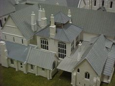 Linka Model Gallery - Linka Models and Mini Gardens Model Gallery, Scale Models, Shed, Mini Gardens, Outdoor Structures, Castles, Galleries, Outdoor Decor, Buildings