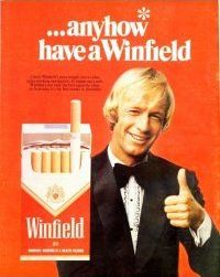 anyhow have a Winfield, remember those TV ads? Retro Advertising, Vintage Advertisements, Vintage Ads, Vintage Posters, Vintage Cigarette Ads, Retro Ads, Tv Ads, I Remember When, Poster