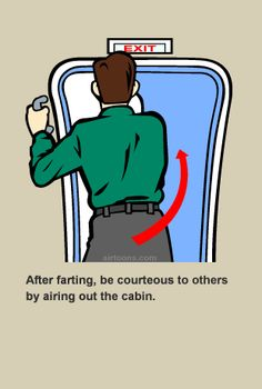 If you open the door mid-flight, your ass is out of here.