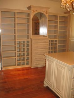 Custom Closet and Shoe Rack by Covenant Woodworks
