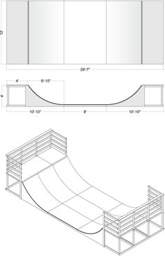 RPO Mini-Standard Half Pipe Ramp Plans