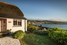 Fantastic views from a boho-chic cottage