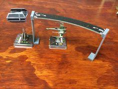 Star Wars X-Wing miniaturas plantilla elevador por GearForgeStudio