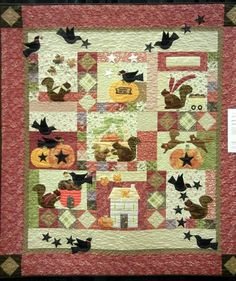Henrietta Whiskers by Beverly Brown, quilted by Jan Carpenter