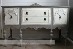 French Linen Buffet - Making Beautiful by Traci Morby