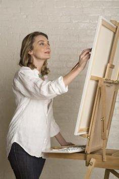 Cómo pintar dobleces de tela | eHow en Español Más