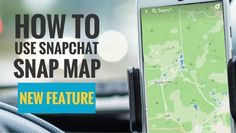 The Snap Map is a feature where it lets your friend your location in a map called Snap Map in real time. You as well can see the location of your friends. You can instantly assess the Snap Map by pinching the Snapchat camera home screen.