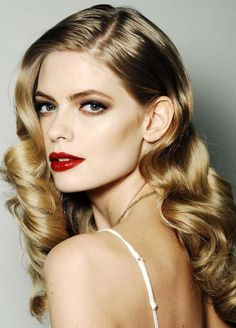 party hairstyles long hair glamourous curls