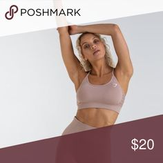 aaf900864c7c7 Taupe sports bra Gymshark wnergy seamless taupe sports bra. Removable  padding. Soft and comfy