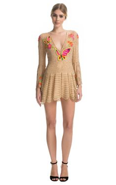 Butterfly Dress by Matthew Williamson - Moda Operandi