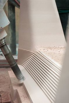 Mold Making... Carbon Chair design by Thomas Feichtner. Producer DFM Technology in Austria.