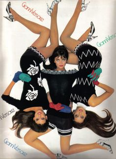vintage fashion ads +chanel | BLITZ LONDON: VINTAGE FASHION ADS OF THE 1980S