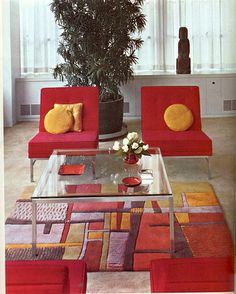 """""""Floor Coverings"""" Betty Pepis, Decorating from A to Z. 1960s"""