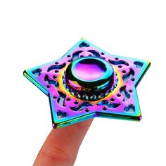 ECUBEE Spinner EDC Chinese Style Fidget Spinner Hand Spinner Reduce Stress Gadget