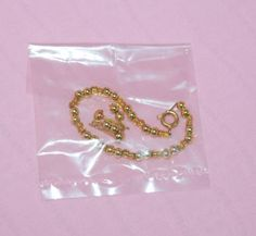 TONNER-16-TYLER-WENTWORTH-PRETTY-YOUNG-THING-GOLD-BEAD-JEWELRY-FITS-SYDNEY-BREN