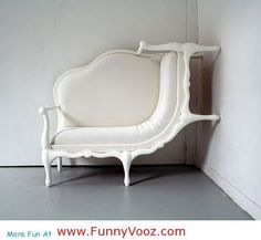 awesome Chair climbing on wall - Funny Furniture