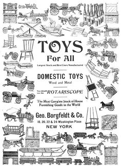 Toys for all! Late Victorian ad