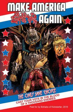 When GWAR Trolled Donald Trump And Kickstarted A Comic Book