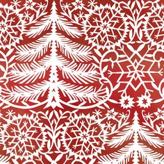 Shop | Category: Red | Product: Kalinka Paper Tree Red
