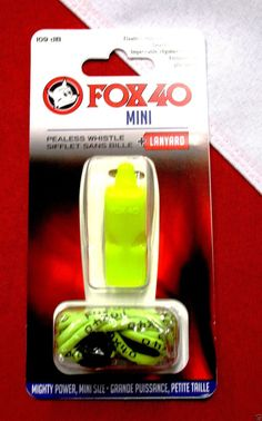 Whistle Fox40 mini pealess scuba diving equipment safety BCD accessory dive gear #Fox40whistle