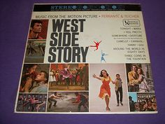 "Ferrante & Teicher West Side Story - Rare 12"" Vinyl LP - United Artists 6166"