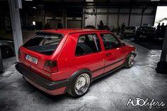 Volkswagen Golf MK2 chrome