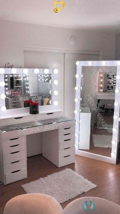 Medina Vanity Rancho Cucamonga CA Professional Makeup Vanity Mirrors cucamongacaprofessional  makeup  medina  mirrors  vanity  vanityrancho #bedroominspirations #bedroomdecor #bedroomdesign #bohobedroom<br> Makeup Vanity Mirror, Diy Vanity, Vanity Mirrors, Vanity Ideas, Vanity Decor, Room Decor Bedroom, Diy Room Decor, Home Decor, Bedroom Small