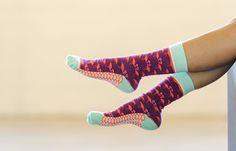 Flirty Flamingo Socks | $12.95